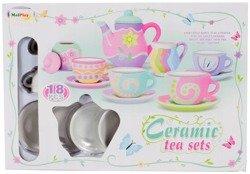 Set ceramica de ceai, pentru pictat [5]