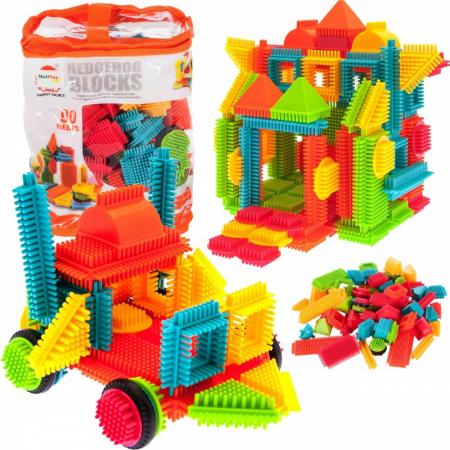 Set de construit Blocks Tip tepi multicolori, 90 piese [2]
