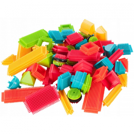 Set de construit Blocks Tip tepi multicolori, 90 piese [3]