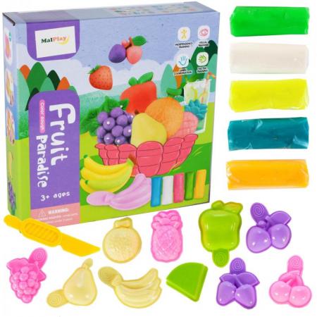 Set de joaca plastilina, Fructe [1]