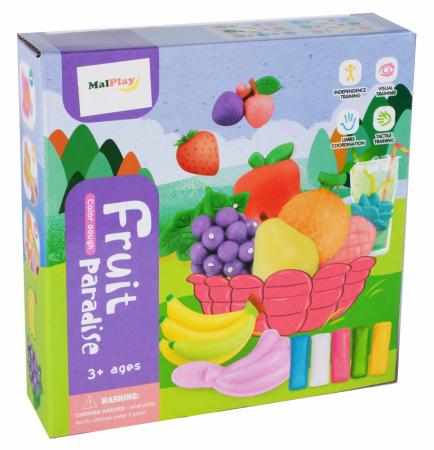Set de joaca plastilina, Fructe [3]