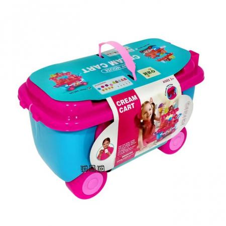 Set de joaca Stand de inghetata in mini carucior Ice Cream1