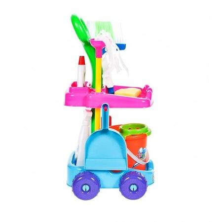 Set de curatenie pentru copii, cu accesorii de curatat [1]