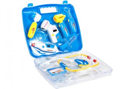 Set de joaca trusa medicala bleu 27,5x24x5,5cm [0]