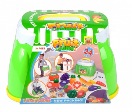 Set de legume si fructe intr-o valiza 27x17x19 cm [0]
