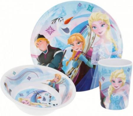 Set mic dejun model Frozen, melamina1