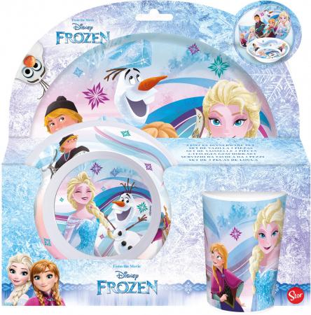 Set mic dejun model Frozen, melamina2