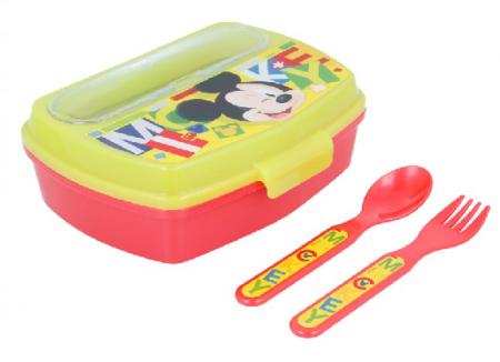 Set pranz Mickey Mouse,cutie sandwich+tacamuri [0]