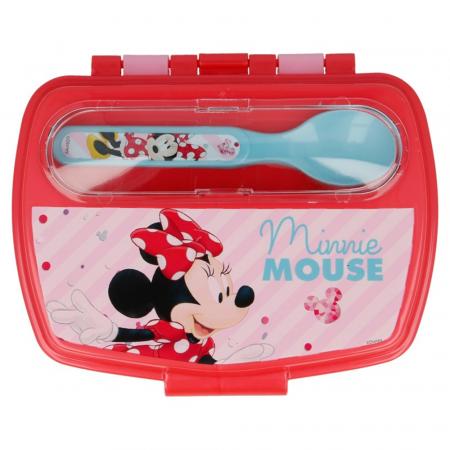 Set pranz Minnie Mouse,cutie sandwich+tacamuri1