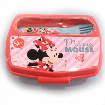 Set pranz Minnie Mouse,cutie sandwich+tacamuri3