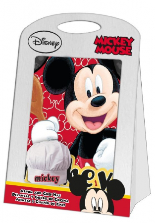 Set sort Mickey Mouse si boneta de bucatar [1]