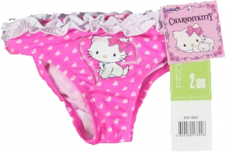 Slip baie Hello Kitty ciclam 5 ani,110 cm1