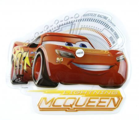 Sticker de perete cu led Cars McQueen, SunCity [0]