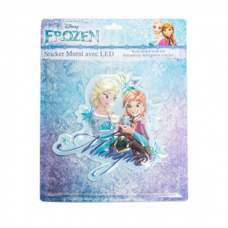 Sticker de perete cu led Frozen Magic, SunCity2