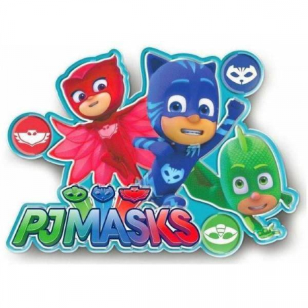 Sticker de perete cu led PJ Masks, SunCity [0]