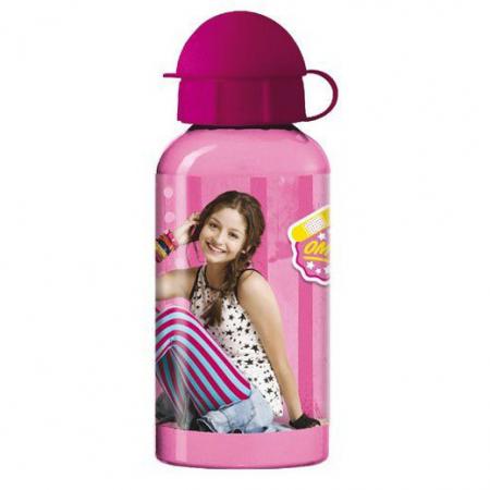 Sticla aluminiu, roz, Luna0