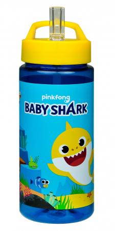 Sticla plastic pentru apa, Baby Shark 500 ml [0]