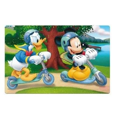 Suport farfurie pentru servit masa Mickey Mouse 3D 45x30 cm0