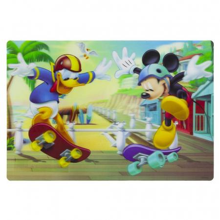 Suport farfurie pentru servit masa Mickey Mouse 3D 45x30 cm1