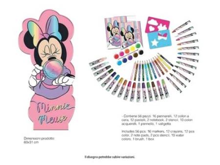Trusa desen Minnie Mouse 56 piese [2]