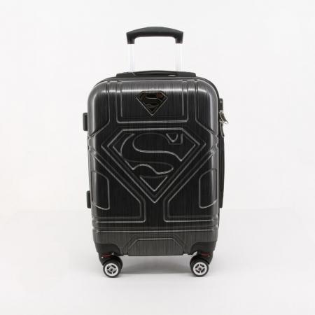 Valiza Troler ABS Superman negru 34x54x22 cm2