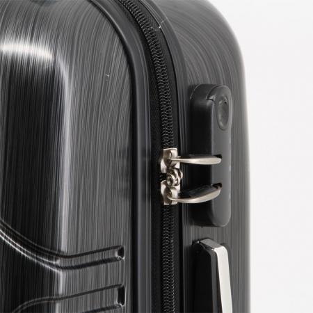 Valiza Troler ABS Superman negru 34x54x22 cm3
