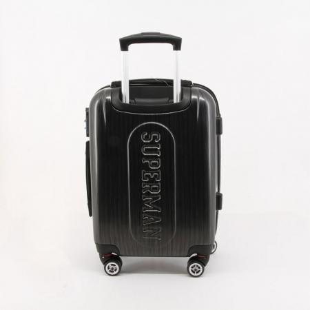 Valiza Troler ABS Superman negru 34x54x22 cm0