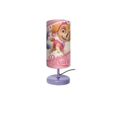 Veioza lampa cilindru noptiera Paw Patrol 29 cm0
