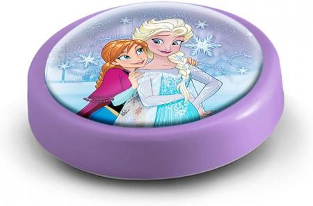 Veioza lampa Led push Frozen 14 cm mov [1]