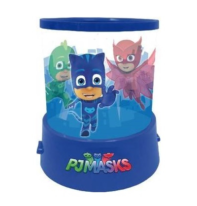 Veioza lampa PJ Masks cu proiectie albastru 11.5 cm0