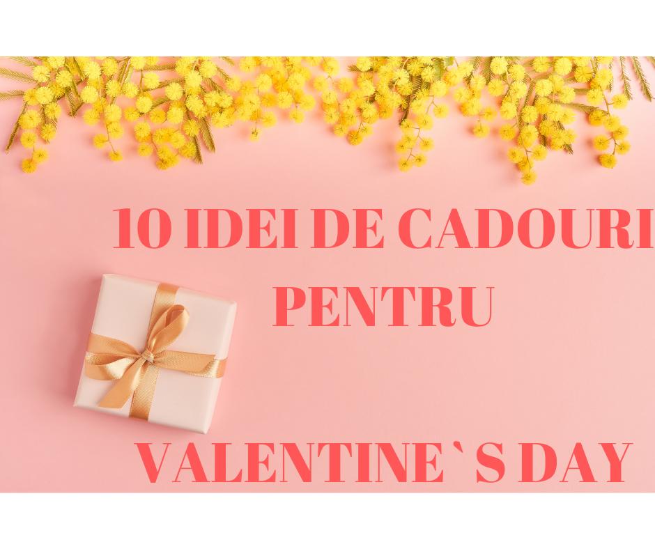 Idei de cadouri Valentine`s Day