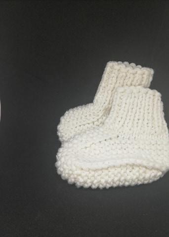 Botoșei handmade albi 1