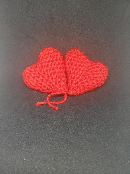 Inimioare croșetate handmade 1