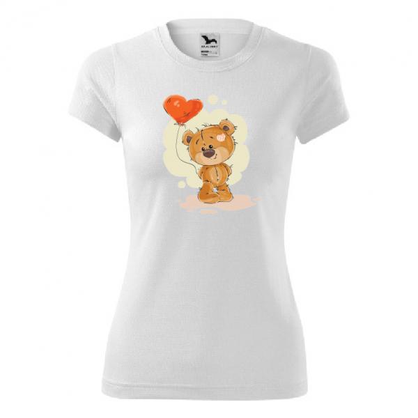 tricou-personalizat-pentru-femei-ursulet-cu-baloane 0