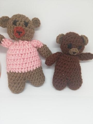 Ursuleți crosetați handmade 1