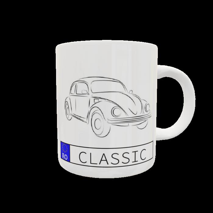 Cană personalizată auto - Classic 0