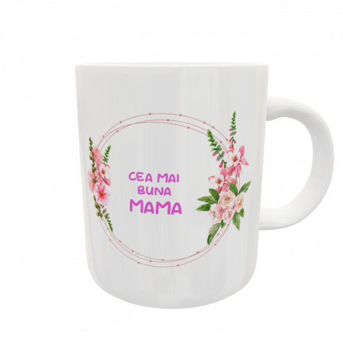 Cană personalizată - Best mom ever 1