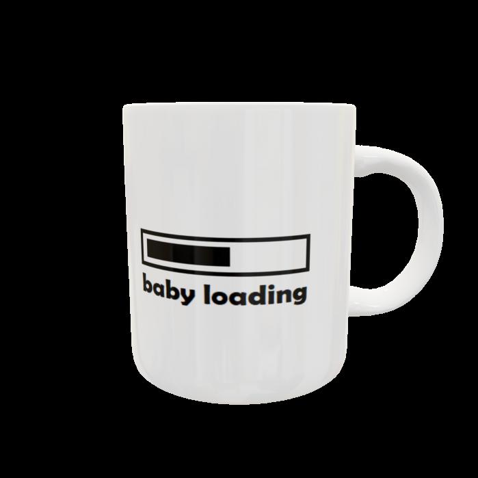 Cană personalizată - Baby loading 0