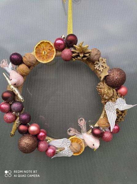 coronita-craciun-handmade-pentru-usa-fantasy 0