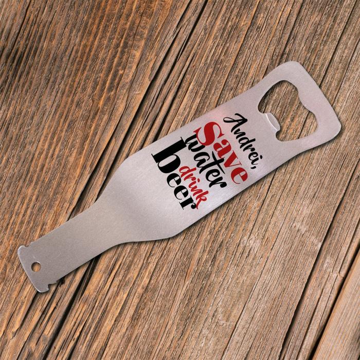 Desfăcător de bere personalizat 0