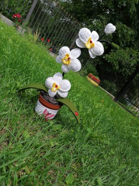orhidee-crosetata-handmade-3-flori 5