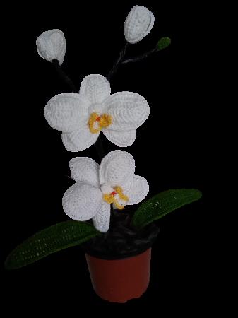 orhidee-crosetata-handmade-2-flori 0