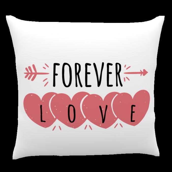 Pernă personalizată Forever Love 0