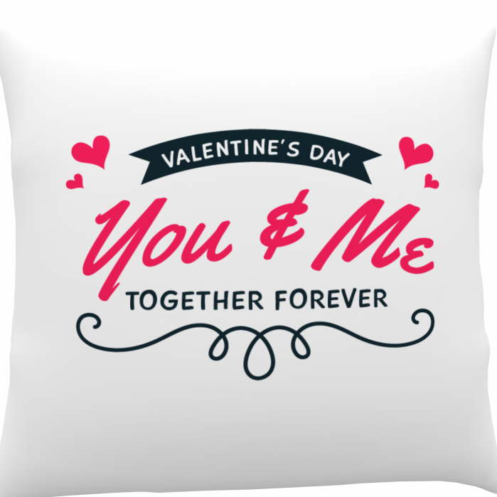 Pernă personalizată You and Me 0