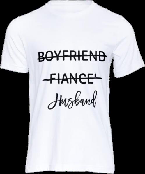 "Tricou personalizat ""Husband"" 0"