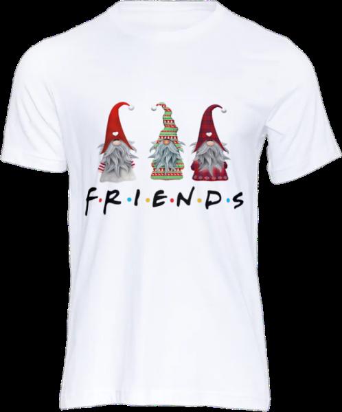 tricou-personalizat-friends-alb-unisex 2