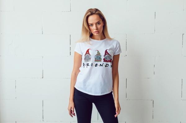 tricou-personalizat-friends-alb-unisex 0