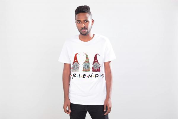 tricou-personalizat-friends-alb-unisex 1