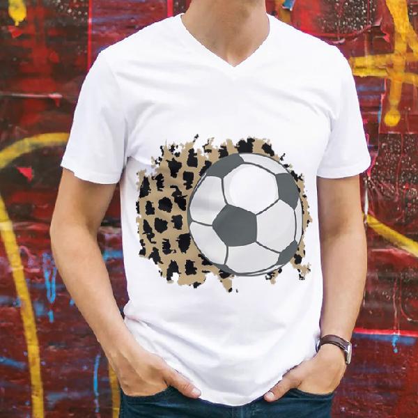 tricou-personalizat-fotbalul-e-viata-mea-alb-unisex 0