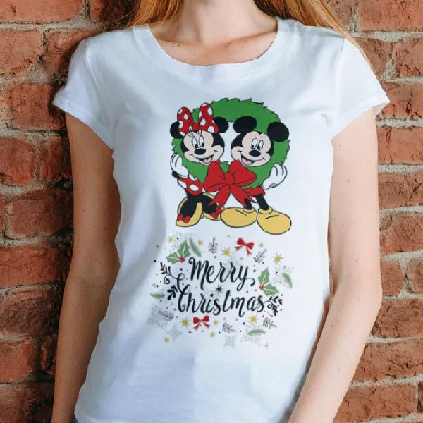 tricou-personalizat-merry-christmas-alb-unisex 0